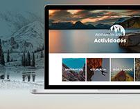 Logotipo y Diseño Web Aventuras con Botas