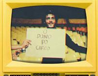 Vídeo clipe | Música: O dono do Circo e a Malabarista