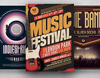 Gig Concert Flyer Bundle