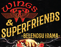 Wings and Superfriends -Belenggu Irama Concert
