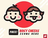 FREE! Rosy Cheeks icons