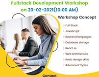 Free Full Stack Development Workshop on 20.2.2021