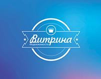 """""""Vitrina nedvizhimosti"""": brandiing, logo style"""