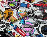NHL Teams X 80s TV Shows