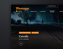 FANTASIA FILM FESTIVAL WEBSITE