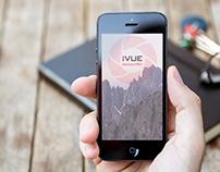 iVue HorizonPro Camera Glasses Mobile App Design