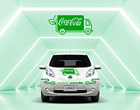 Identidad Movilidad Sostenible Coca-Cola