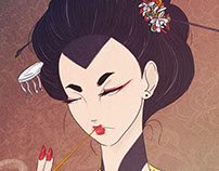 The Yakuza Geisha