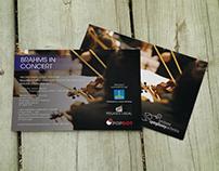 Brisbane Symphony Orchestra: poster and postcard design