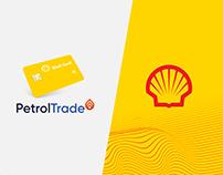 PetrolTrade Shell web design