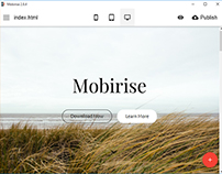 Mobirise Mobile Website Creator v2.8.4 is out!