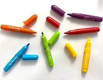Los colores de un dibujo