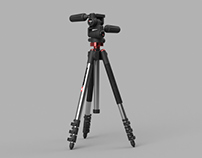 3D_Tripod-Head /  Manfrotto