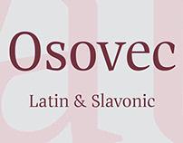 шрифт Осовец | Osovec type
