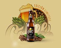 Coffee IPA Beer | 5 Lobos Mx