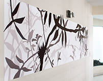 Handmade wallpainting