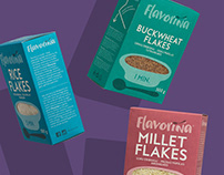 'FLAVORINA' packaging
