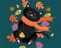 October Ilustration