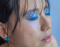 Blue crushed