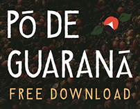 Typeface: Pó de Guaraná (free download)