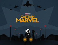 "The Poster Posse X ""Captain Marvel"""