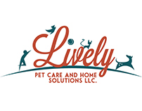 Lively Pet Care and Home Solutions Logo