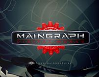 Maingraph | animated 3D logo