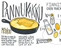 Illustrated Recipe Pannukakku
