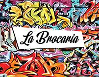 Marca e cardápio La Brocaria