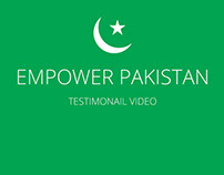 Empower Pakistan's testimonial video