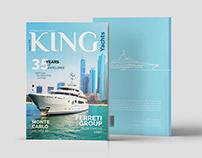 King Yachts Magazine Layout