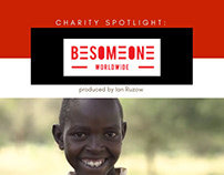 BeSomeone Worldwide Charity Spotlight by Ian Ruzow