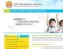 WebDesign GRT School, Chennai