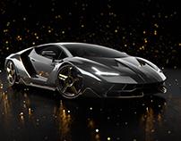 Lamborghini Centenario - CGI Visualization