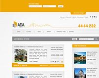 ADA EMLAK | Web Tasarım