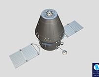 Russian spaceship 'Orel' ('Eagle')