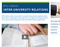 Inter-University Relations Website