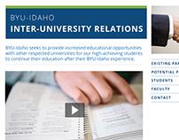 Inter-University Relations Website