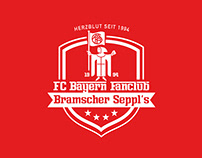 FC Bayern Fanclub Bramscher Sepp'ls | Corporate Design