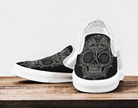 Slip on Shoe Design Mockup