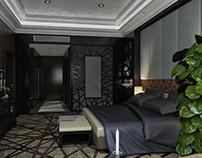 Q Hotel Master Bedroom