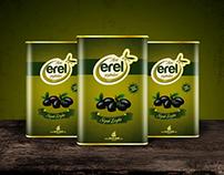 Erel Zeytincilik Logo, Ambalaj