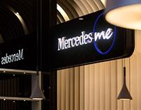 WTL Design Commercial Project Sharing-Mercedes Me Café