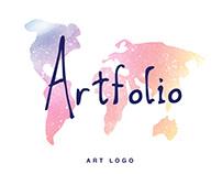 Artfolio ( Art logo )