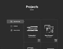 Architecture Studio Web Design
