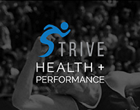 Strive Health + Performance - Web Design & Print Design