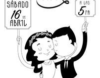 BRANDING & ILLUSTRATION: Wedding