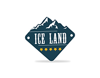 Ice Land Logo Design