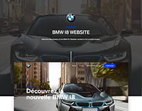 BMW I8 - Website