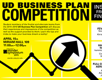 UD Business Plan Competition Advertising